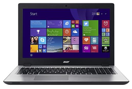 Acer Aspire V3-575G-51AW (NX.G5EER.003), Silver - (Intel Core i5 6200U / 2.30 - 2.80 ГГц. Экран 15.6 дюймов, 1366x768, широкоформатный. ОЗУ 8 Гб DDR3L. Накопители HDD 1000 Гб; DVD-RW, внутренний. GPU NVIDIA GeForce 940M. ОС Win 10 Home)
