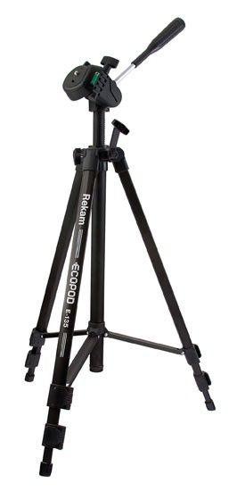 Rekam Ecopod E-135, черный - трипод напольный, 470-1345 мм, есть