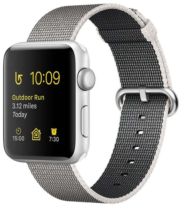 Смарт-часы Apple Watch Series 2 38mm Silver Al/Pearl MNNX2RU/A