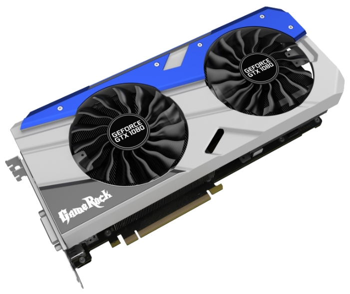 Palit GeForce GTX 1080 (8Gb GDDR5X, DVI-D + HDMI + 3xDP) - NVIDIA GeForce GTX 1080, 16 нм, 1746 МГц, 8192 Мб GDDR5X@10500 МГц 256 бит,