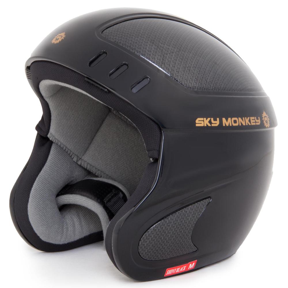 Шлем горнолыжный Sky Monkey Shiny Black (VS660) рXL(61)