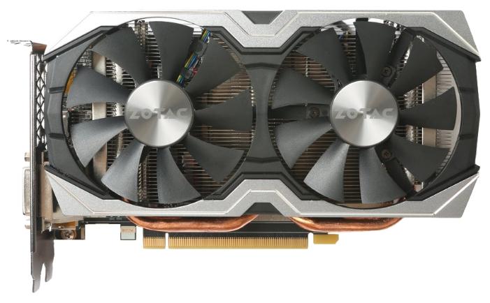 Zotac GeForce GTX 1060 1556Mhz PCI-E 3.0 6144Mb 8000Mhz 192 bit DVI HDMI HDCP - NVIDIA GeForce GTX 1060, 16 нм, 1556 МГц, 6144 Мб GDDR5@8000