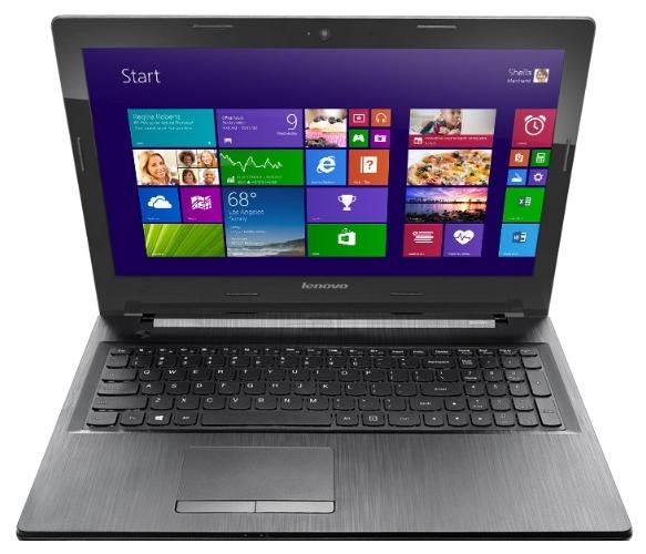 Lenovo G50-45 (80E300EQRK), Black - (E1 6010 1350 МГц. Экран 15.6 дюймов, 1366x768, широкоформатный. ОЗУ 2 Гб DDR3L 1600 МГц. Накопители HDD 250 Гб; DVD-RW, внутренний. GPU AMD Radeon R2. ОС DOS)