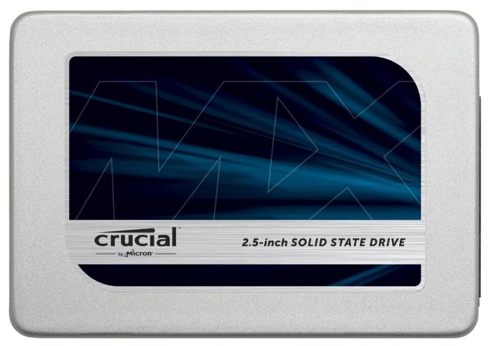 """Crucial MX300 1050GB - (1050 Гб; 2.5""""; SATA 6Gbit/s; запись 510 МБ/с; чтение 530 Мб/с; для ноутбука и настольного компьютера)"""
