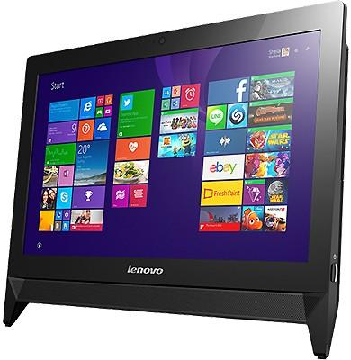 "Lenovo c20-30 (F0B200CBRK), Black - (Intel Celeron 3215U; 4 Гб; 500 Гб; ODD - DVD-RW • Экран 19.5"" 1920x1080; Intel HD Graphics • Wi-Fi 802.11 b/g/n; Bluetooth 4.0 •)"
