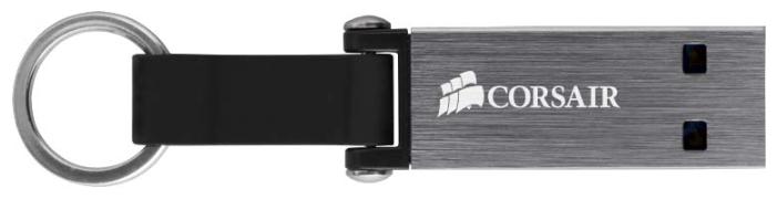 Флешка Corsair Flash Voyager Mini USB 3.0 64Gb, Black/Grey