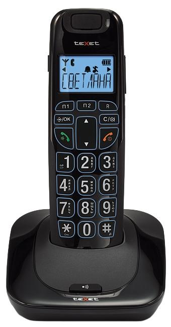 Радиотелефон DECT TeXet TX-D7505A Black