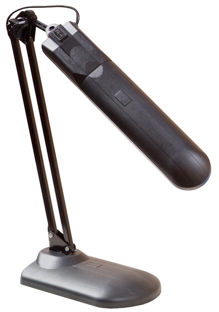 Светильник настольный Трансвит Delta 1U/Bl, black (на струбцине) DELTA1U/BL