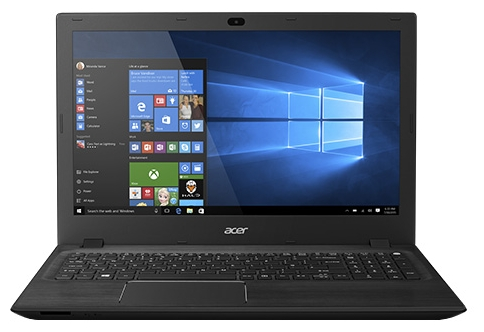 Acer Aspire F5-571-P6TK (NX.G9ZER.009), Black - (Intel Pentium 3556U 1700 МГц. Экран 15.6 дюймов, 1366x768, широкоформатный. ОЗУ 4 Гб DDR3L 1600 МГц. Накопители HDD 500 Гб; DVD нет. GPU Intel GMA HD. ОС Win 10)