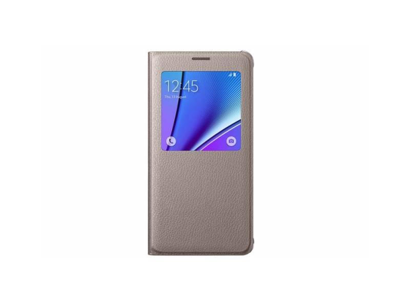Чехол Samsung для Samsung Galaxy Note 5 S View, golden