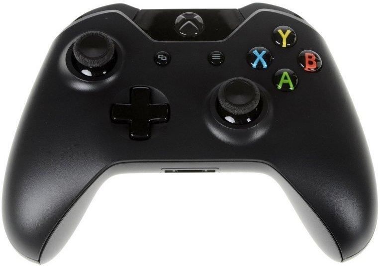 Геймпад Microsoft Xbox One Wireless Controller + аккумулятор, EX7-00007, Black