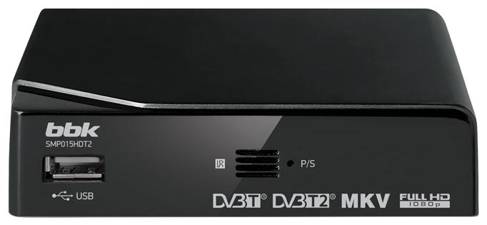TV-тюнер BBK SMP015HDT2, Black SMP015HDT2 черный