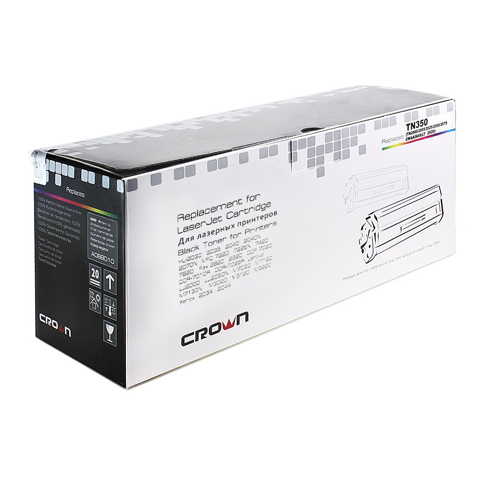 Картридж лазерный CROWN CM-TN-350, Black CM000001467