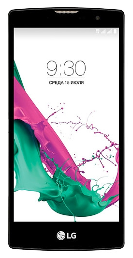 LG G4c H522y, White/Black - (Android 5.0; GSM 900/1800/1900, 3G, 4G LTE; SIM-карт 2; Qualcomm Snapdragon 410 MSM8916, 1500 МГц; RAM 1 Гб; ROM 8 Гб; 2540 мАч; 8 млн пикс., 3264x2448, светодиодная вспышка; есть, 5 млн пикс.; датчики - освещенности, приближения)