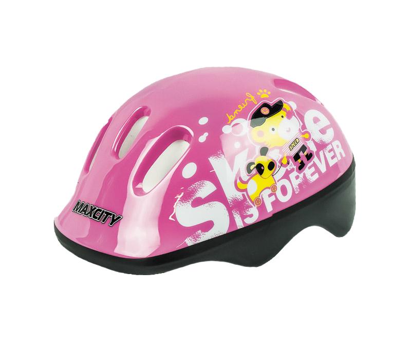 Защита роликовая Max City Baby Teddy р.S, pink