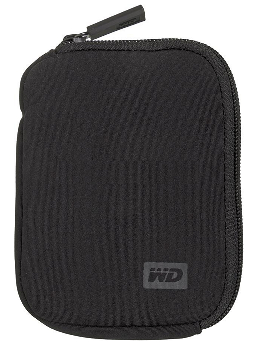 Чехол WD WDBABK0000NBK-ERSN для внешнего HDD My Passport, Black