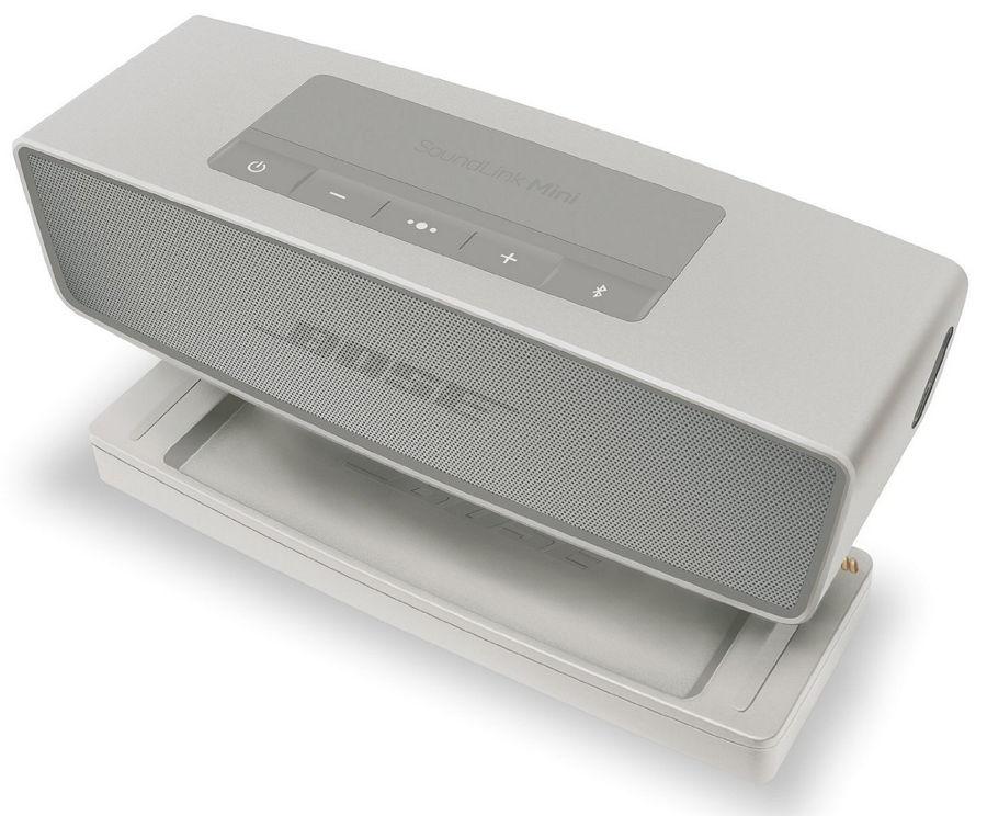 Bose SoundLink Mini II, White - стерео; питание - от аккумулятора или от бытовой электросети; эл.питания - Li-Ion аккумулятор SoundL