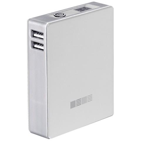 InterStep PB78002UW 7800 mAh - (7800 мАч; 2.1 А; Вход - micro USB / Выход - USBx2 • Индикатор заряда - есть.)