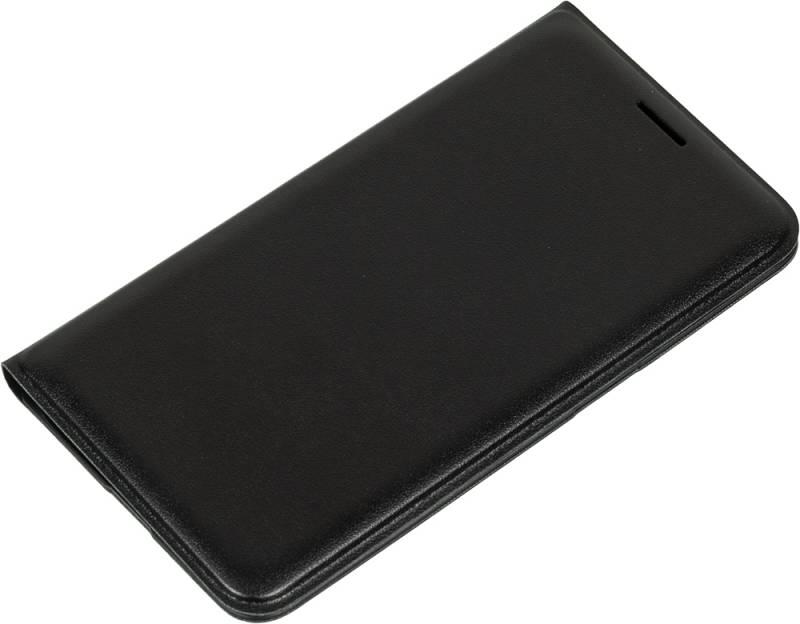 Samsung для Samsung Galaxy J1(2016) EF-WJ120P, black - (для Samsung Galaxy J1 (2016); искусственная кожа)