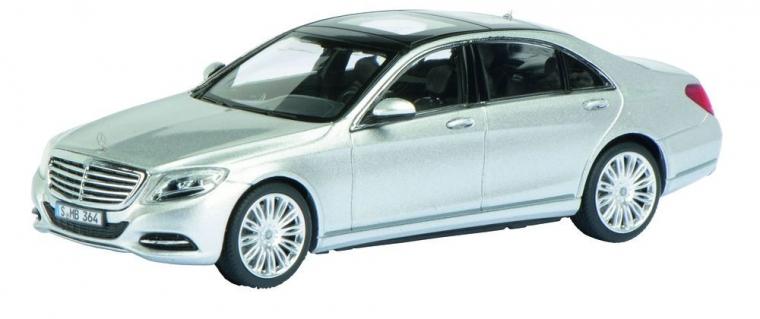 Машинка Schuco Mercedes-Benz S-class, silver
