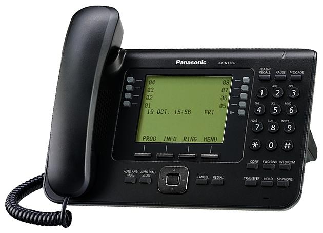 VoIP-������� Panasonic KX-NT560RU-B, WAN, LAN, Gigabit LAN, ���� ������������ ������