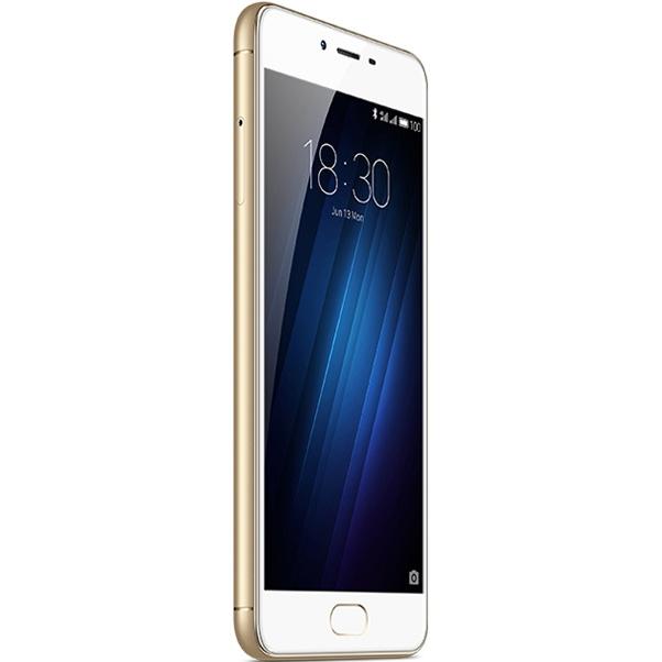 Meizu M3s 32Gb, Gold - (Android; GSM 900/1800/1900, 3G, 4G LTE, VoLTE; SIM-карт 2 (nano SIM); MediaTek MT6750, 1500 МГц; RAM 3 Гб; ROM 32 Гб; 3020 мАч; 13 млн пикс., светодиодная вспышка; есть, 5 млн пикс.; датчики - освещенности, приближения, компас, считывание отпечатка пальца)