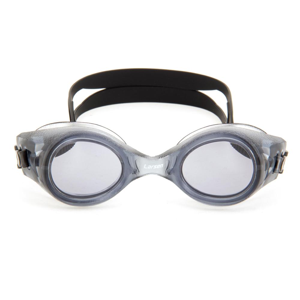 Очки плавательные Larsen S8 черный (пвх)
