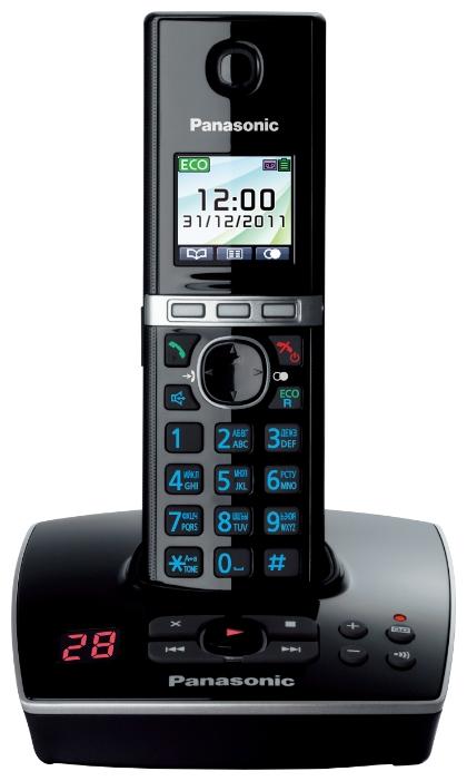 Радиотелефон Panasonic KX-TG8061RUB Black