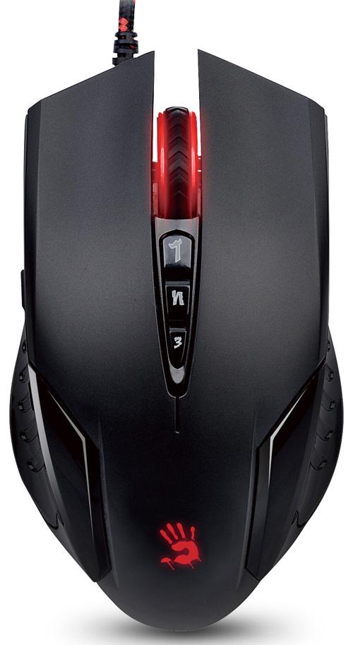 Мышь A4Tech Bloody V5M game mouse Black USB