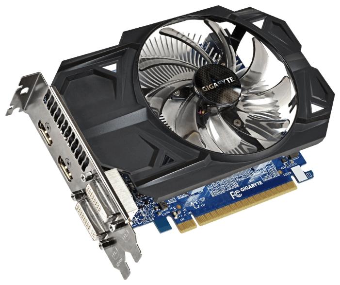 Видеокарта GIGABYTE GeForce GTX 750 Ti 1033Mhz PCI-E 3.0 1024Mb 5400Mhz 128 bit 2xDVI 2xHDMI HDCP GV-N75TOC-1GI