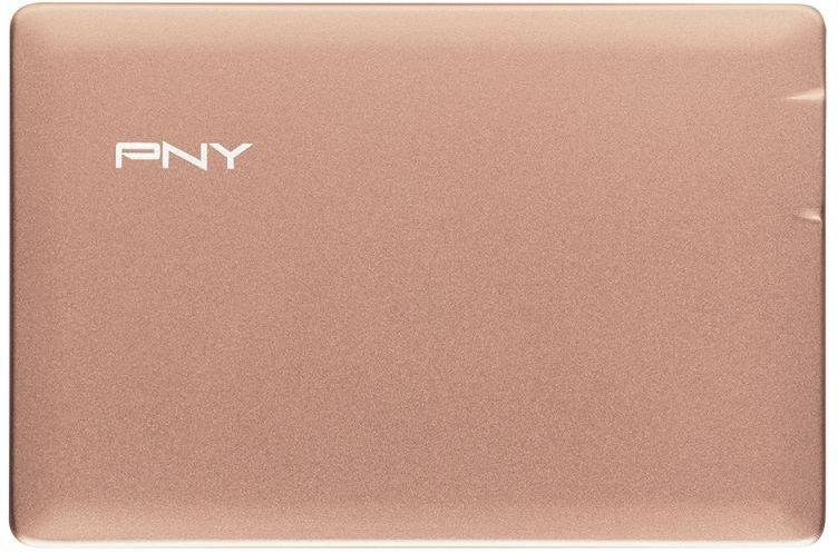 Аккумуляторная батарея PNY PowerPack ALU 2500 (2500 мАч) Rose Gold P-B2500-1CCAGP01-RB