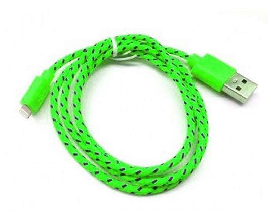 Дата-кабель Smartbuy iK-512n green