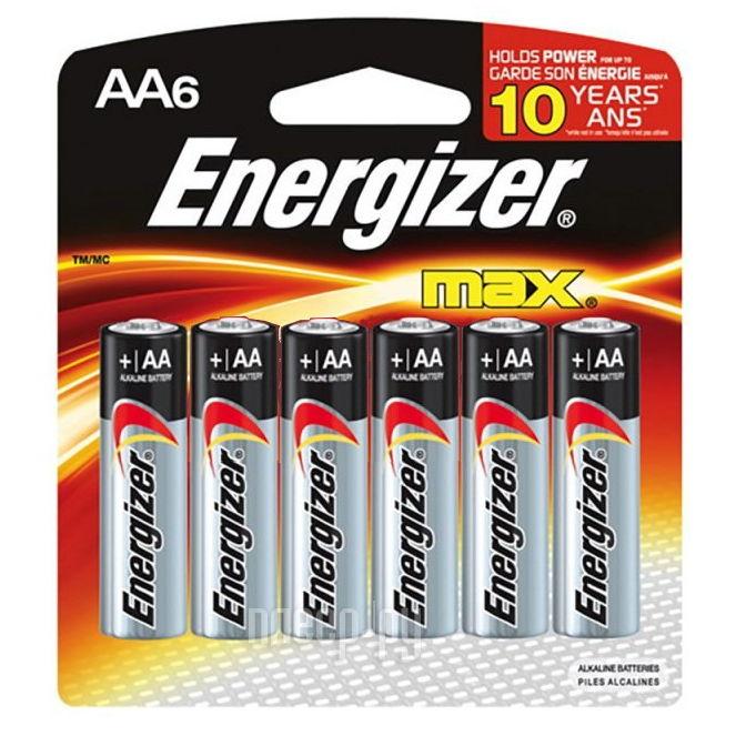 �������� �������� Energizer MAX MAX AA-LR6 6