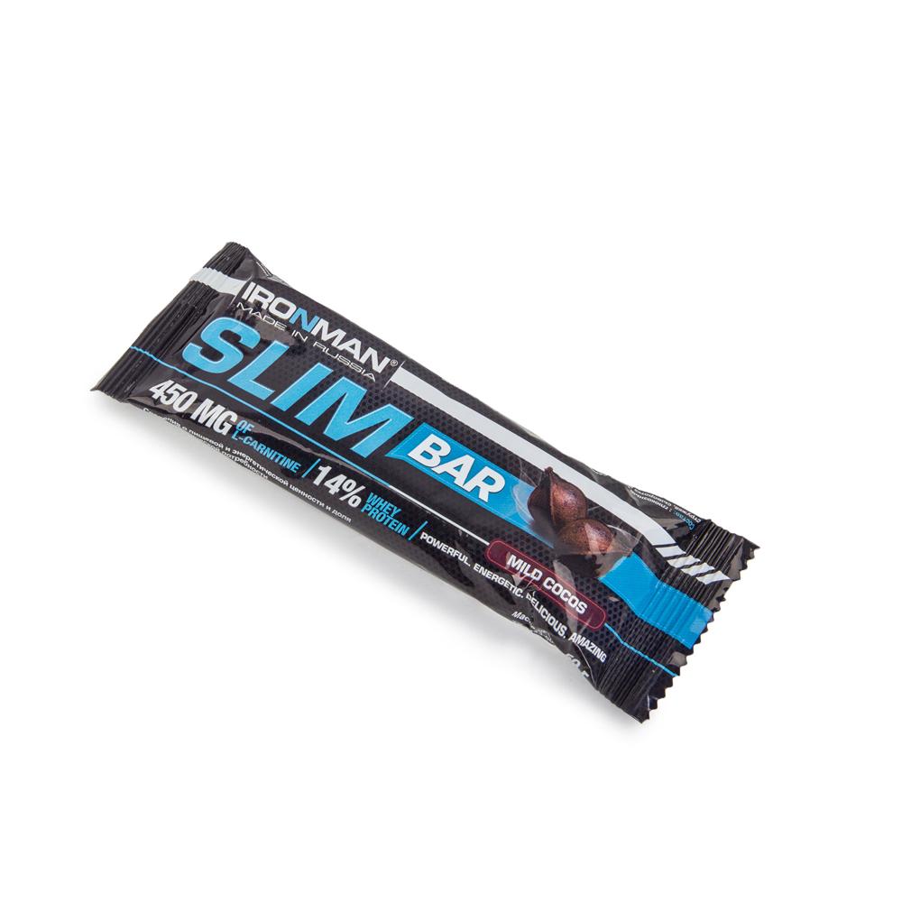 Батончик Ironman Energy Bar с гуараной sm1646 50гр кокос (674) (Россия)