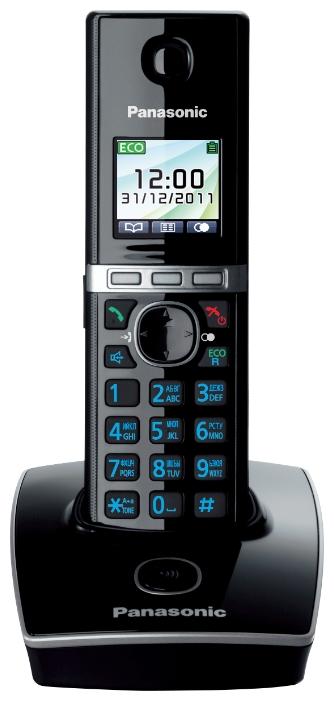 Радиотелефон Panasonic KX-TG8051RUB, Black