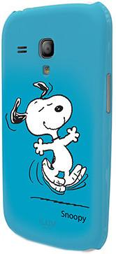 Чехол iLuv для Samsung GalaxyS III Mini Snoopy blue