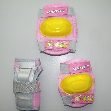 Защита роликовая MaxCity Little Rabbit р. S, pink