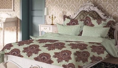 Комплект постельного белья Волшебная Ночь, Геральдина, (сатин, евро) 188431