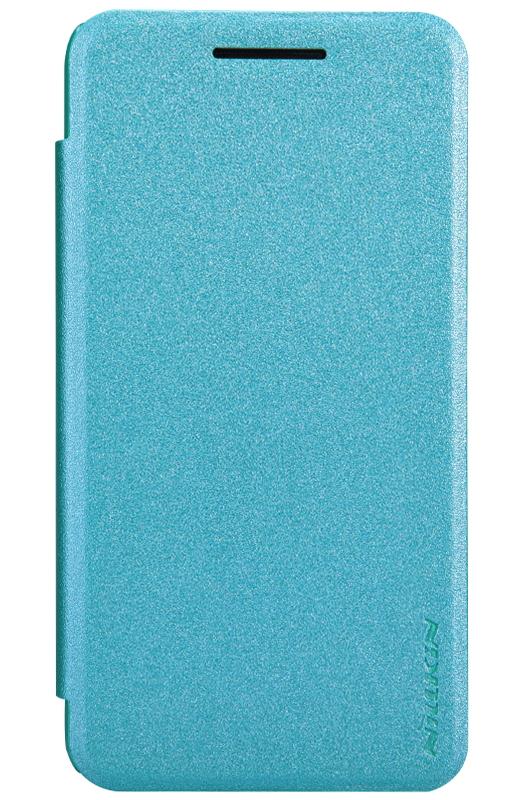 �����-������ Nillkin Sparkle Leather Case ��� ASUS ZenFone 4 (A400CG), Blue