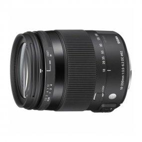 Sigma AF 18-200mm f/3.5-6.3 DC MACRO OS HSM Contemporary Nikon - (стандартный Zoom; ФР 18 - 200 мм; ZOOM 11.1x; F3.50 - F6.30 • Автофокус есть. Макрорежим есть. • Неполнокадровый да)