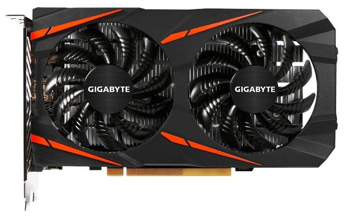 Видеокарта Gigabyte Radeon RX 460 1212Mhz PCI-E 3.0 2048Mb 7000Mhz 128 bit DVI HDMI HDCP GV-RX460WF2OC-2GD