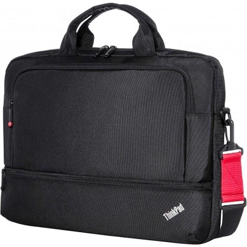 """Lenovo ThinkPad Essential Topload - сумка; под диагональ экрана 15.6""""; синтетический; размер 40x30.1x5 см. Цвет черный. • Отделения"""