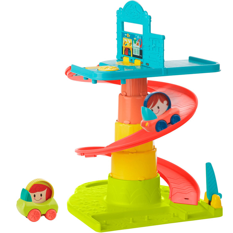 Hasbro Playskool Веселый Гараж возьми с собой, colorful