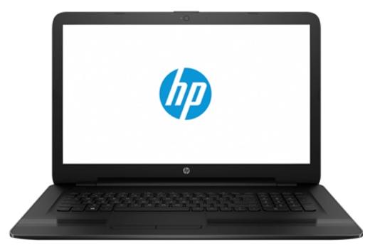 HP 17-y004ur W7Y98EA black - (AMD E2 7110 1800 МГц. Экран 17.3 дюймов, 1600x900, широкоформатный. ОЗУ 4 Гб DDR3L 1600 МГц. Накопители HDD 500 Гб; DVD-RW, внутренний. GPU AMD Radeon R2. ОС DOS)