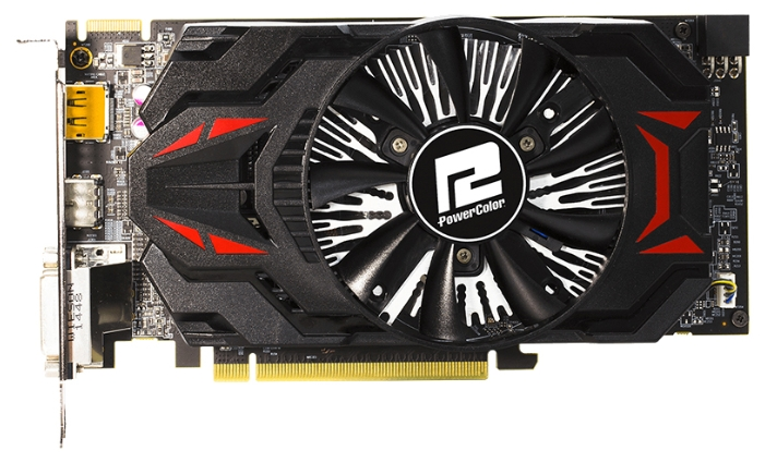 ���������� PowerColor Radeon R7 370 985Mhz PCI-E 3.0 2048Mb 5700Mhz 256 bit 2xDVI HDMI HDCP AXR7 370 2GBD5-DHE/OC