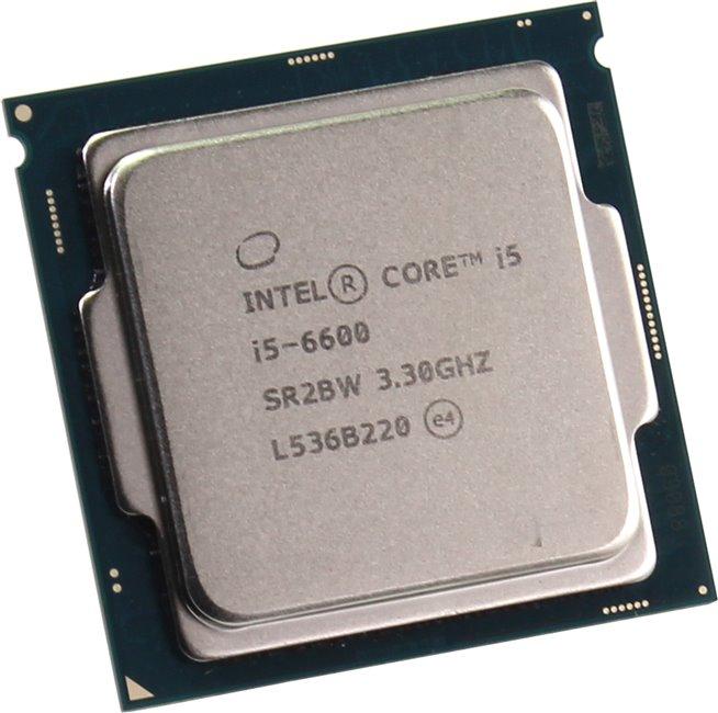 Процессор Intel Core i5-6600 Skylake (3300MHz, LGA1151, L3 6144Kb), OEM