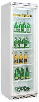 витрина Саратов 502 (КШ 300) - (Однокамерная холодильная витрина, компрессоров 1, камер 1, дверей 1. верх 301 низ 301 (разм. капельная система)., нет Энергопотр-е B белый)