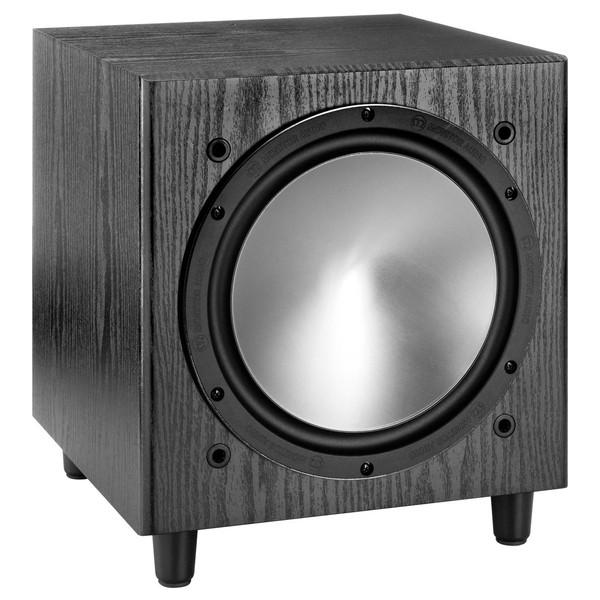 Monitor Audio Bronze W10, Black oak - напольная, активная, с пассивным излучателем; сабвуфер (1 громкоговоритель); полос 1; 30-120