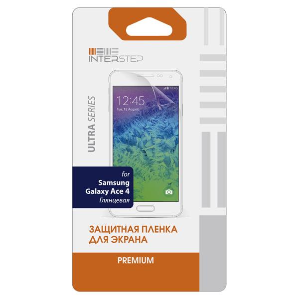 Защитная пленка InterStep для Samsung Galaxy Ace 4 (IS-SF-SAMACE4UC-000B201)
