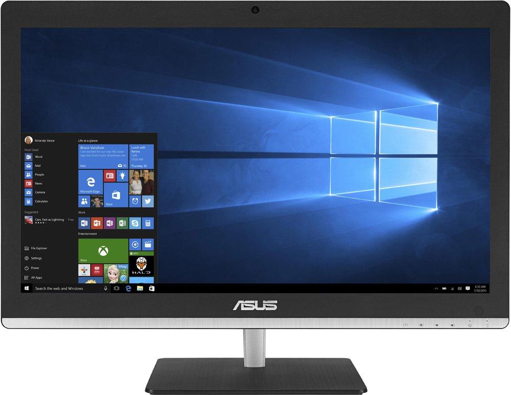 "ASUS Vivo AiO V200IBGK-BC003X (90PT01J1-M01380) - (Intel Pentium N3700 / 1.60 ГГц; 4 Гб; 1000 Гб; ODD - DVD±RW DL • Экран 19.5"" 1920x1080; NVIDIA GeForce 930M • LAN 10-1000 Мбит/с; Wi-Fi 802.11 b/g/n; Bluetooth 4.0 • MS Windows 10)"